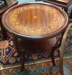 Mahogany Table 2